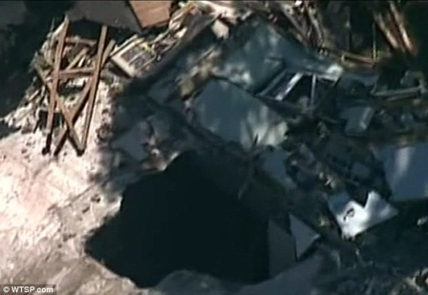 sinkhole revealed