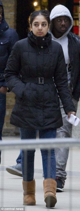 Aamna Aliana, 18, at Southwark Crown Court. She admitted 12 counts of fraud and possession of criminal property