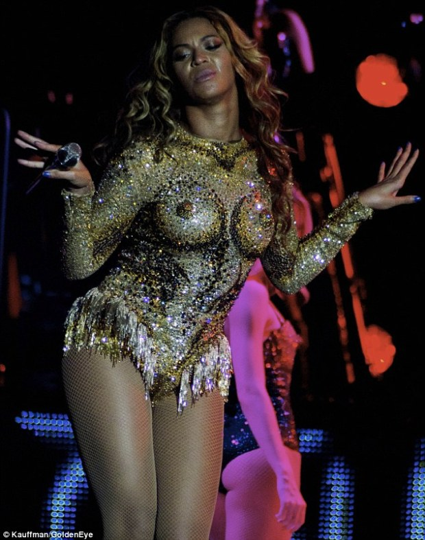 Humble beginnings: For the majority of her professional career, Beyoncé's costumes were designed by mother Tina Knowles