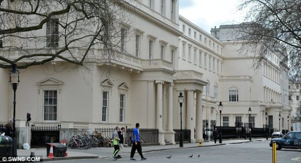 Passing by: Carlton House Terrace is considered desirable thanks to its location just off The Mall