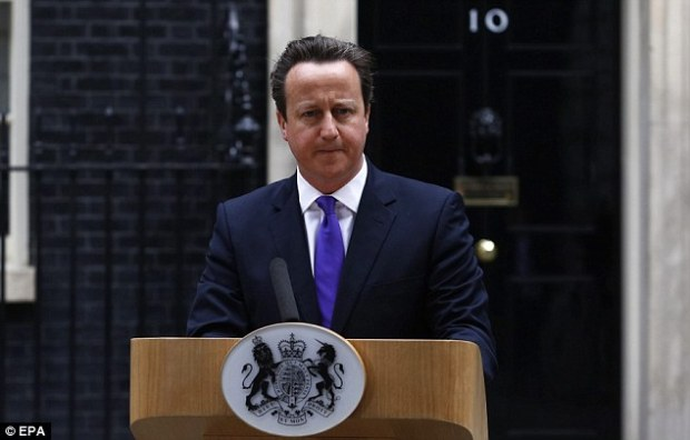David Cameron today praised the actions of Ingrid Loyau-Kennett for standing up to the alleged killers