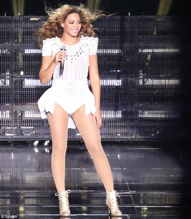 Working it! On Saturday, Beyonce will return to London to perform at the Chime For Change concert at Twickenham Stadium, before kicking off the North America leg of the Mrs. Carter Show in Los Angeles on June 28