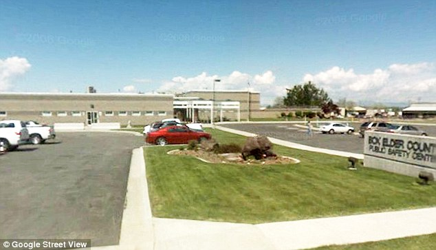 Behind bars: The suspected rapist is being held at the Box Elder County Jail on $200,000 bail