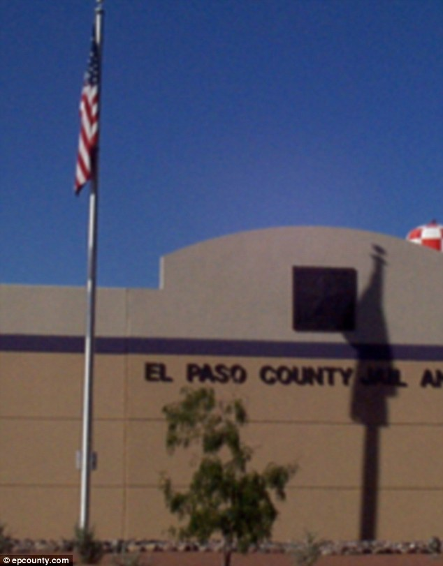 Lockdown: The school lunch lady is being held at El Paso County Jail