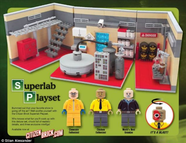 Lego refused to sanction the play set because of the 'adult content' available to people of any age