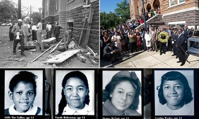 Alabama church bombing victims awarded highest civilian honor by Congress on 50th anniversary of ...