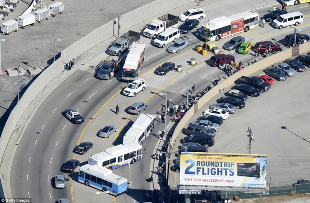 Travel chaos ensued at Los Angeles International Airport on Friday following the shooting