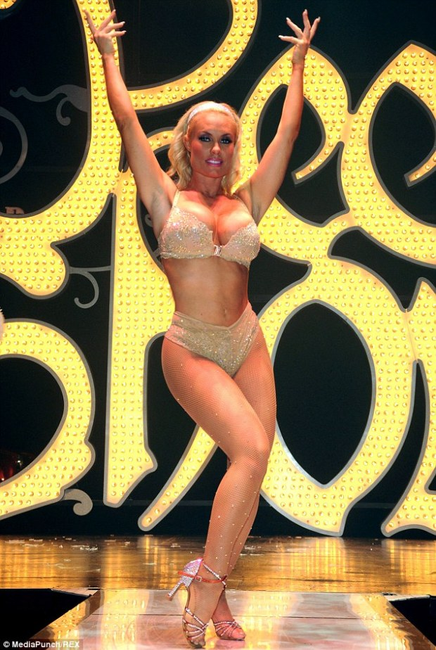 Take a bow: Coco performed her final Peepshow on September 1 after nine months of performances
