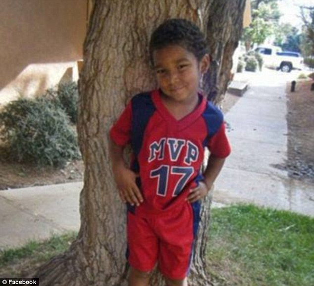 Just a child: Omaree was only nine-years-old when he was found dead