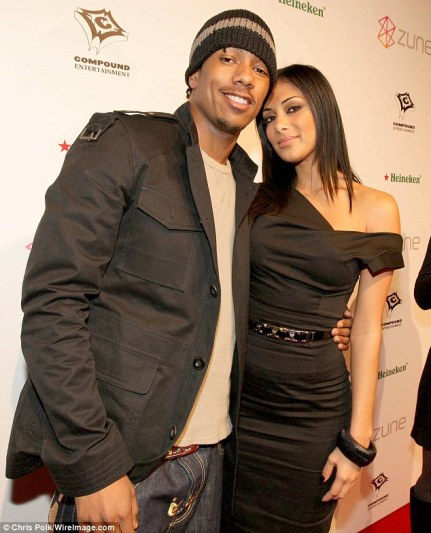 Long list: The 33-year-old said he could not name everyone but listed former girlfriend Nicole Scherzinger, pictured in 2008