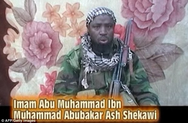 The suspected leader of the Nigerian Islamist group, Imam Abu Muhammad Ibn Muhammad Abubakar Ash Shekawi, also known as Abubakar Shekau, at an undisclosed location in Nigeria