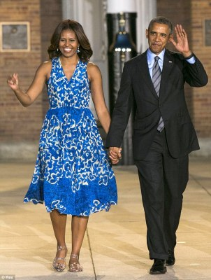 Off-colour remarks: The 81-year-old called the US president gay and the First Lady 'a tranny', pictured in Washington D.C. in June