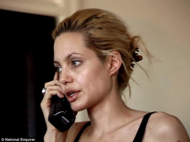 Confessions: Jolie alluded to a dark past in 2011, saying she is lucky to be alive