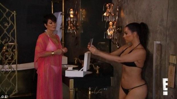 'You're obsessed': Kris Jenner blasts daughter Kim Kardashian for taking 1,200 selfies during their Thailand trip