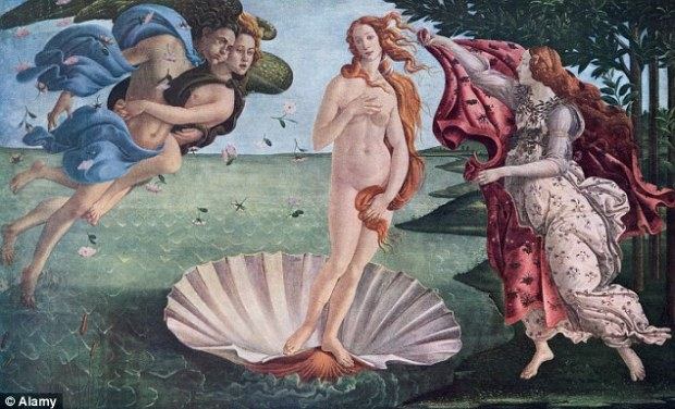 Iconic: The Birth of Venus was painted by Sandro Botticelli after he was commissioned by the Medici family of Florence