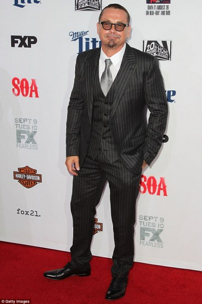 Sons Of Anarchy creator Kurt Sutter on the mend after being rushed to hospital with appendicitis ...