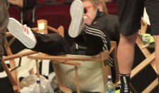 WATCH: Sir Elton John Falls In Chair In Funny Video