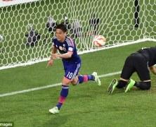 Video: Nhật Bản vs Jordan
