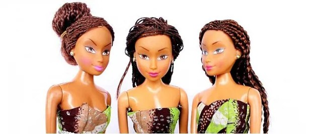 A Nigerian businessman decided to create own doll that Nigerian girls could identify with called Queens of Africa, by recreating their skin colour and style - and now it's outselling Barbie in his native country