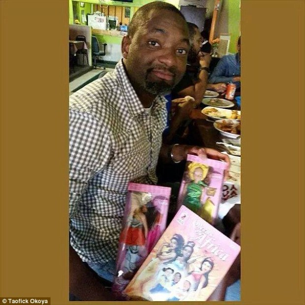 In 2007, Taofick Okoya, 43, created his own doll that Nigerian girls could identify with
