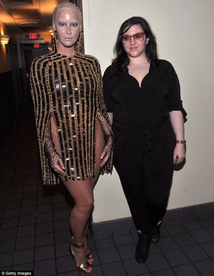 Amber with designer laurel