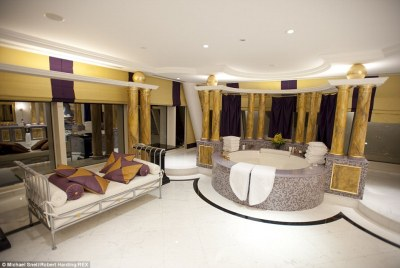 Inside Hotel Bling! Unashamed luxury - or epic vulgarity? Either way every year 11,000 Brits ...