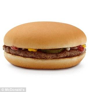 一つは栄養士ではなく、脂っこいフライドポテトの野菜を選ぶ、この正規ハンバーガーとサイドサラダコンボを選んだ
