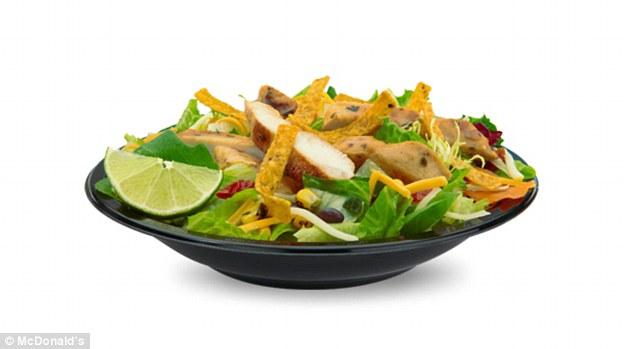 栄養士の多くは、彼らがマクドナルドでサラダの代わりに、より一般的なハンバーガーやサンドイッチを食べると述べた