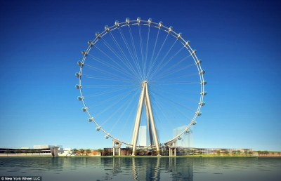New York to build world's tallest Ferris wheel unless Dubai finishes theirs first | Daily Mail ...