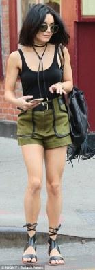 Image result for vanessa hudgens High Waisted Shorts & Tank