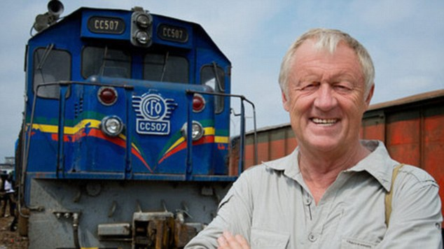 Chris Tarrant discovered he may as well have stayed in England after finding cold, wet weather and late trains on his trip attempting to cross the Andes