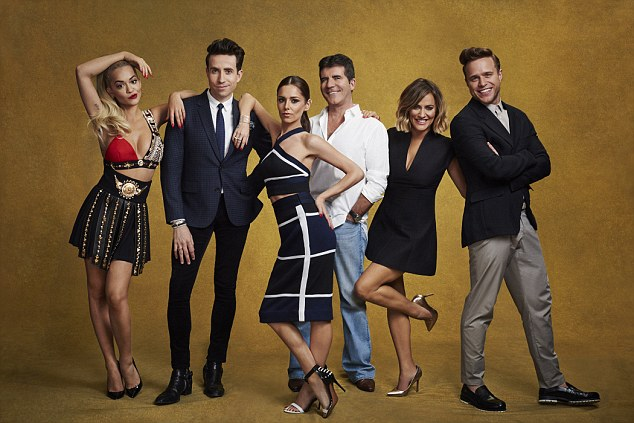 Losing its x-factor?The new look show has faced a series of issues since its launch last month, as ratings have dwindled with more and more viewers turning to X Factor rival, Strictly Come Dancing