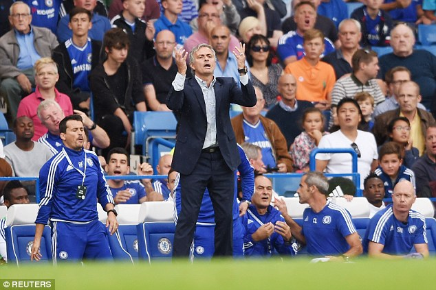 Mourinho warned senior stars at Stamford Bridge that they could be dropped after defeat by Crystal Palace