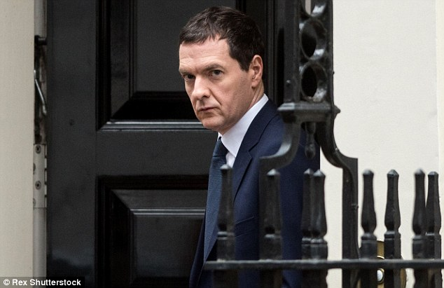 George Osborne will only meet his target to get Britain's finances back in the black if the Tories break their promise to cut immigration