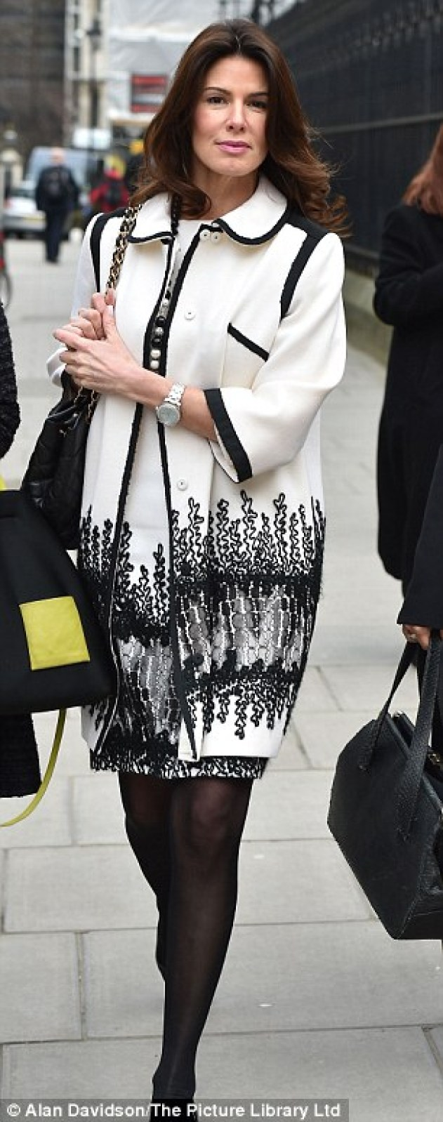 Christina Estrada pictured outside the High Court today