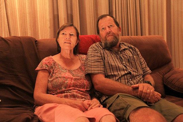 Family: Phillip Rankin and his wife Anita are now staying with a relative around 15 miles away from Harare