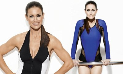 Kirsty Gallacher shows off flawless physique in sexy bodysuit | Daily Mail Online