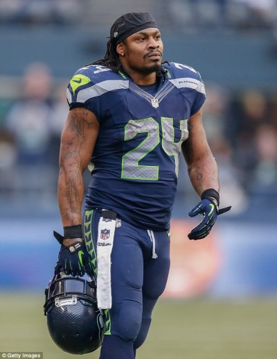 Seattle Seahawks star Marshawn Lynch 'announces retirement' on Twitter | Daily Mail Online