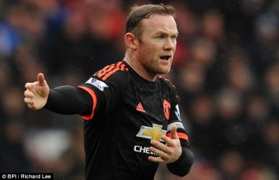 Wayne Rooney injury blow for Manchester United | Daily Mail Online
