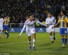Video: Shrewsbury Town vs Manchester United