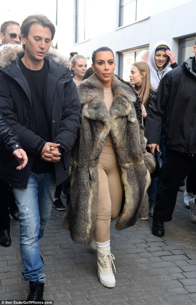 Everyone needs a bestie! Kim was accompanied by her BFF, former publicist Jonathan Cheban