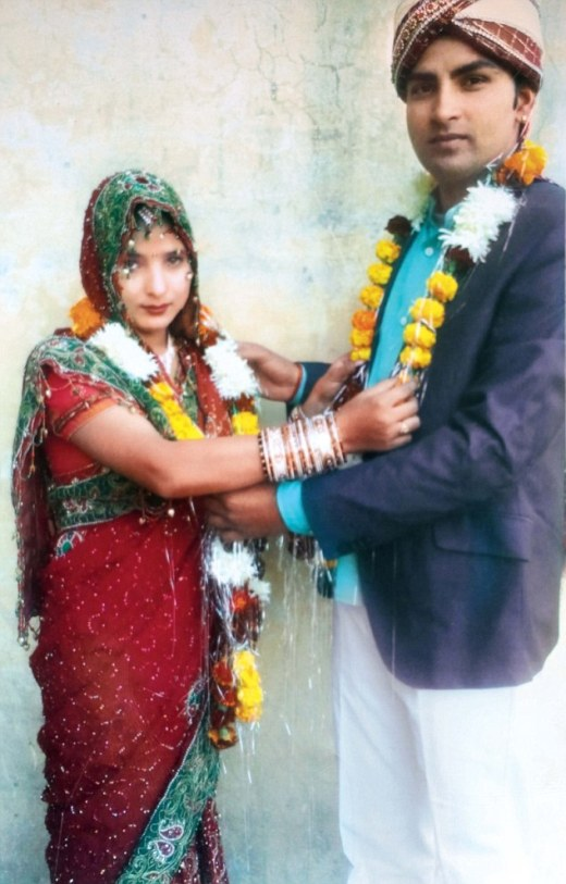 Manjeet and Sapna initially soughtprotection from the area's senior superintendent of police after eloping together by motorbike