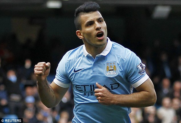 Iheanacho's City team-mate Sergio Aguero has a minute-to-goal ratio of 112.89 so far this campaign