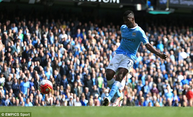Iheanacho scored twice for Manchester City as they swept aside Stoke 4-0 in the Premier League on Saturday