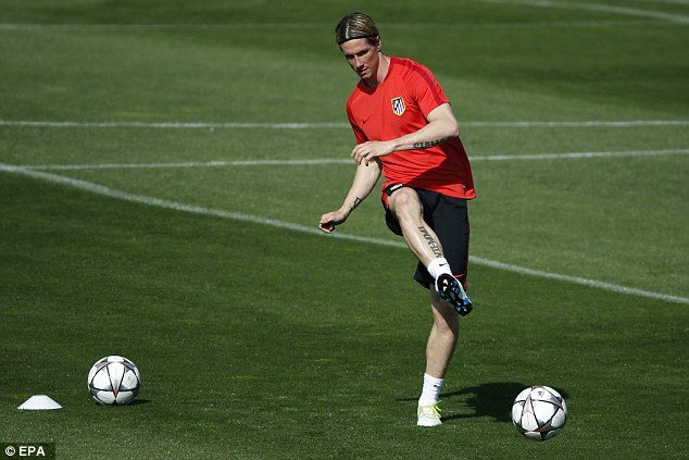 Fernando Torres has been in sensational goalscoring form for Atletico since his sending off at the Nou Camp