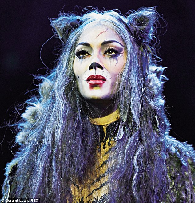Nicole as Grizabella in Cats. Its creator Andrew Lloyd Webber called her 'the real deal' and 'the most exciting musical theatre artist I have worked with in very, very many years'