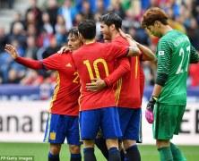 Video: Tây Ban Nha vs Hàn Quốc