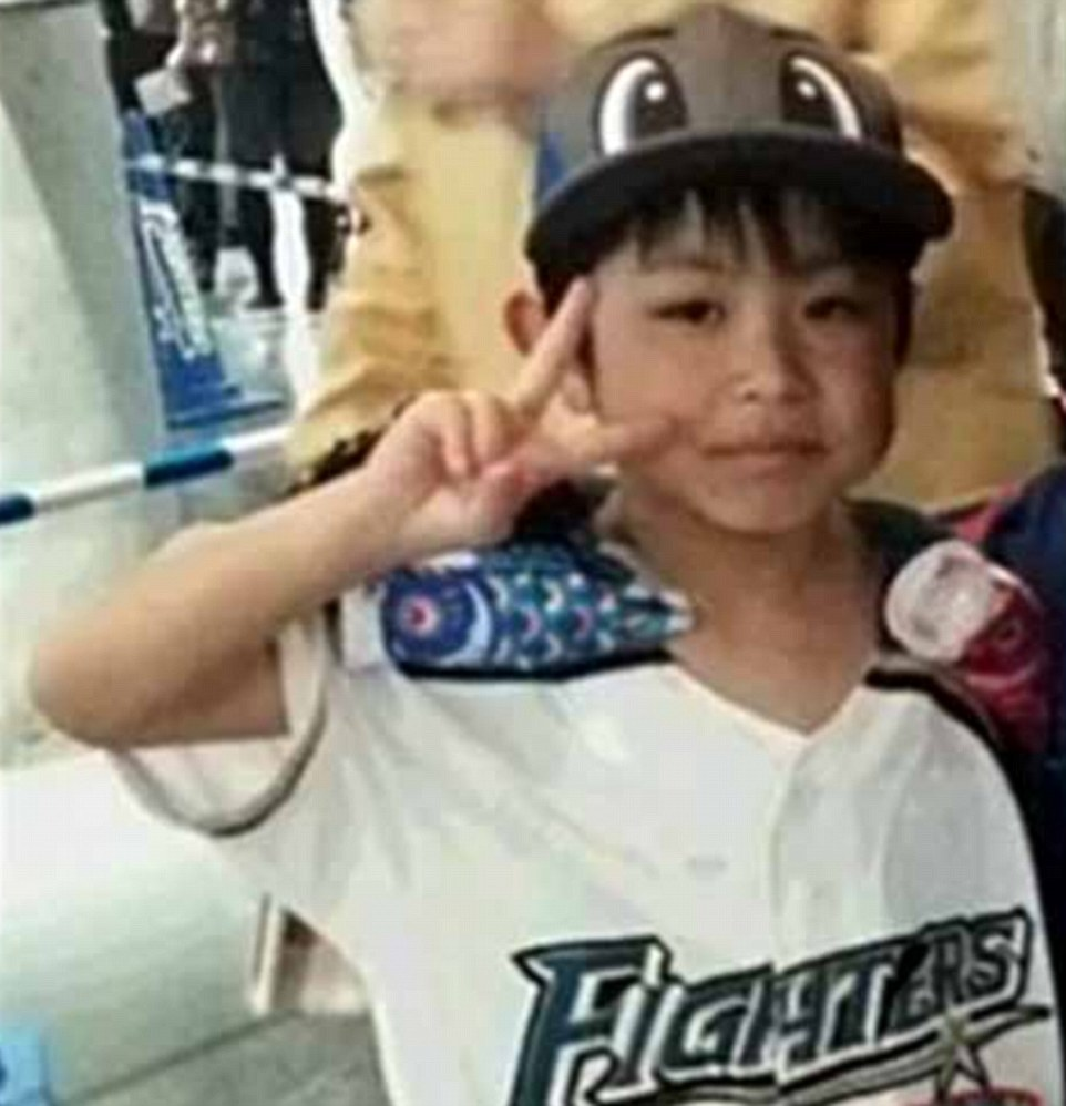 The missing Japaanese boy Yamato Tanooka, seven, was found after six days in a bear-infested forest