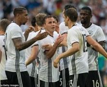 Video: Đức vs Hungary