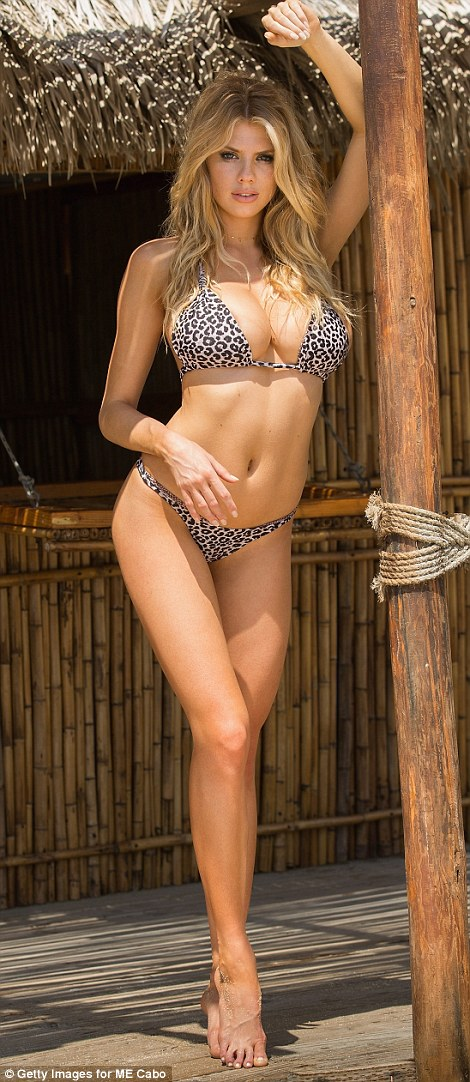 Even she has her worries:Even though she has a promising career and has been compared to Kate Upton, the stunner told Galore magazine last year that she can be very insecure